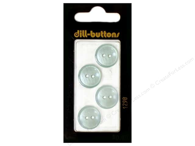 Dill 2 Hole Buttons 5/8 in. Blue #1298 4pc.