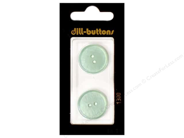 Dill 2 Hole Buttons 13/16 in. Blue #1300 2pc.