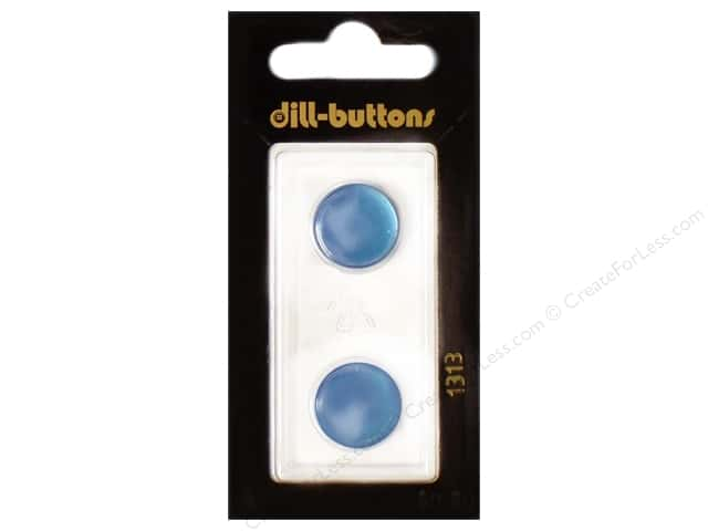 Dill Shank Buttons 5/8 in. Royal Blue #1313 2pc.