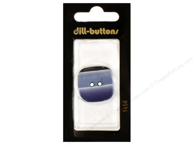 Dill 2 Hole Buttons 1 1/8 in. Navy #1456 1pc.