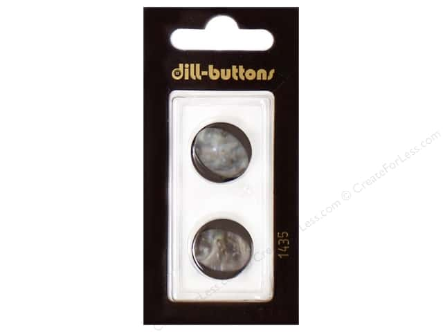 Dill Shank Buttons 11/16 in. Navy #1435 2pc.