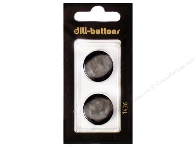 Dill Shank Buttons 13/16 in. Navy #1436 2pc.