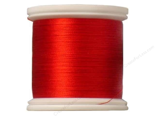YLI Silk Thread 100 wt. 220 yd. #201 Chinese Red