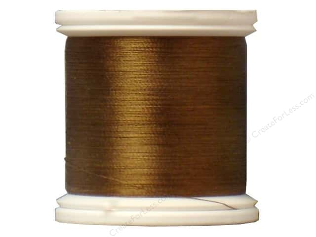 YLI Silk Thread 100 wt. 220 yd. #223 Taupe Brown