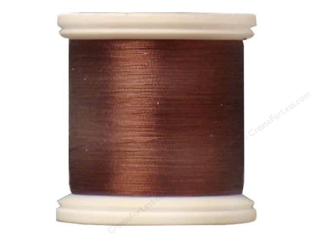 YLI Silk Thread 100 wt. 220 yd. #234 Cocoa Brown