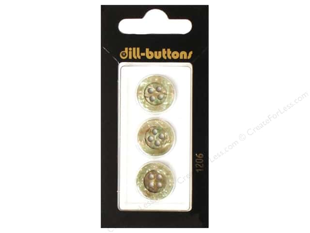 Dill 4 Hole Buttons 5/8 in. Beige #1206 3pc.