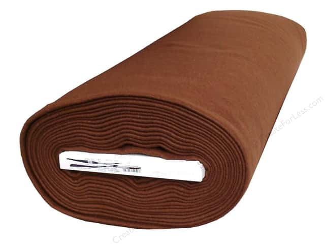 Kunin Rainbow Classic Felt 72 in. x 10 yd. Walnut