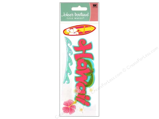 Jolee's Boutique Title Stickers Hawaii