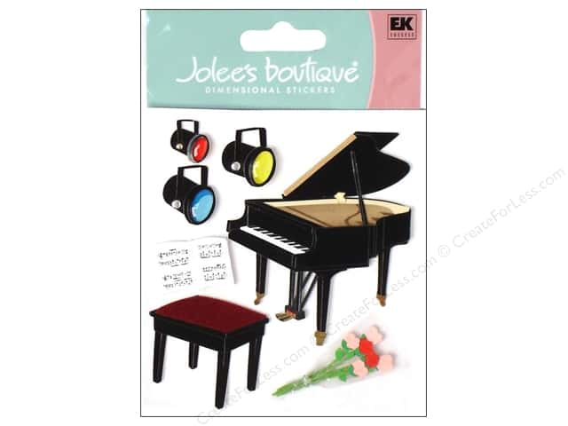 Jolee's Boutique Stickers Piano Recital