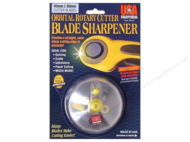 USA Sharpeners Orbital Cutter Blade Sharpener 45mm & 60mm
