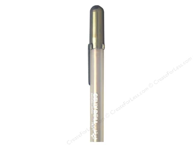 Sakura Gelly Roll Pen Gold Shadow Black