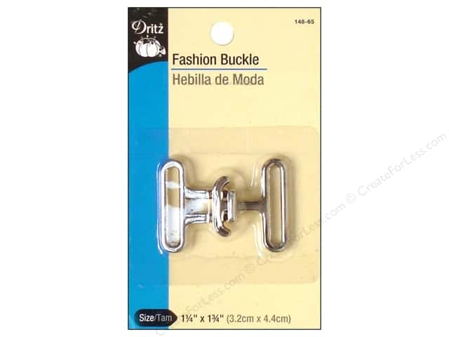 Dritz Fashion Buckle - Nickel