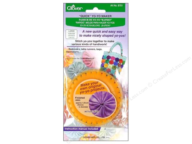 Clover Quick Yo-Yo Maker 1.8 in. Large
