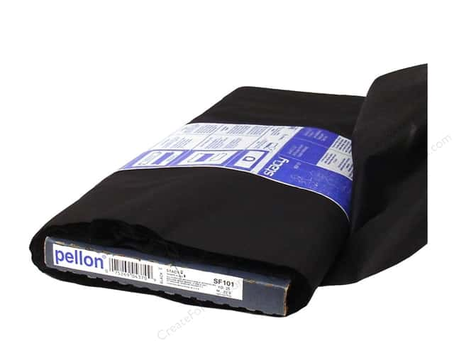 Pellon Shape-Flex Fusible Interfacing 20 in. x 25 yd. Black (25 yards)