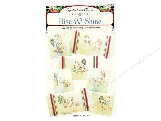 Yesterday's Charm Rise & Shine Iron-on Pattern