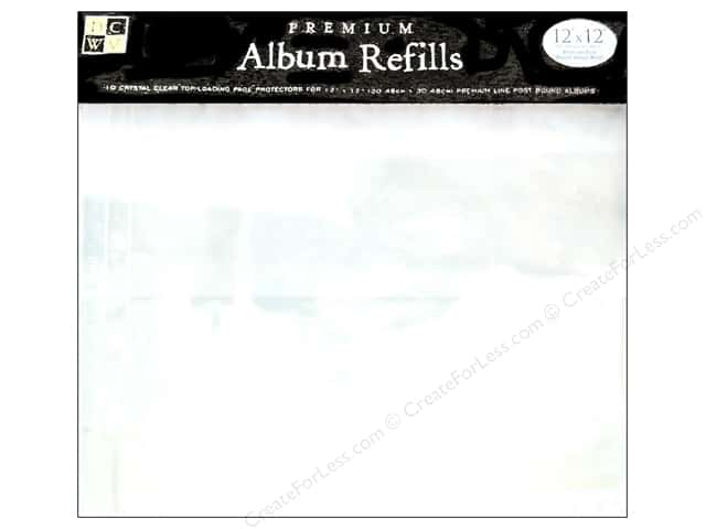 DieCuts Album Refill 12 x 12 in. 10pc