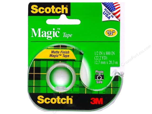 "Scotch Tape Magic 1/2""x 800"""