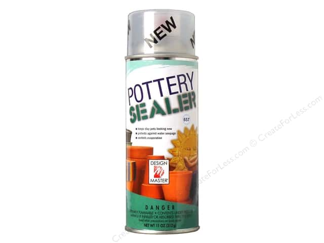 Design Master Clear Coat Pottery Sealer 11 oz