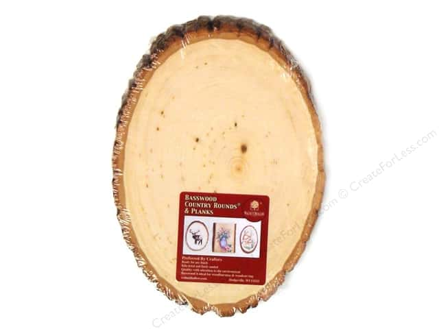 Walnut Hollow Basswood Country Round Small 5 - 7 in.