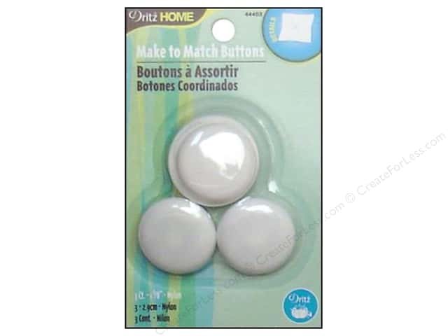 Cover Button Round by Dritz Home Nylon Size 45