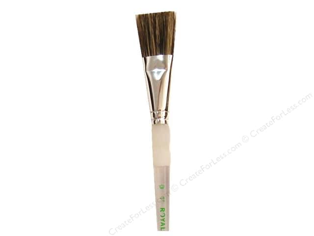 Royal Soft Grip Hog Bristle Paint Brush - Glaze 1 in.