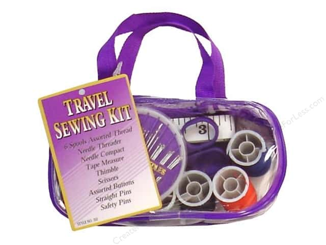 Allary Home & Travel Sewing Kit Assorted Colors 1 pc.