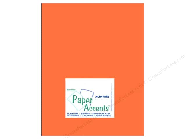 Cardstock 8 1/2 x 11 in. #8012 Muslin Burning Ember by Paper Accents (25 sheets)