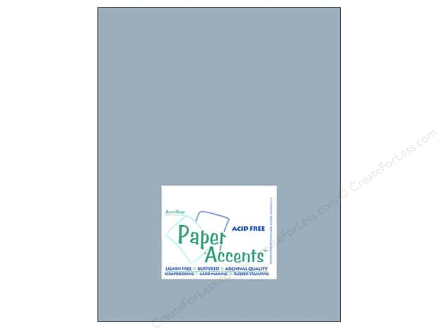 Cardstock 8 1/2 x 11 in.#8039 Muslin Evening Sky by Paper Accents (25 sheets)