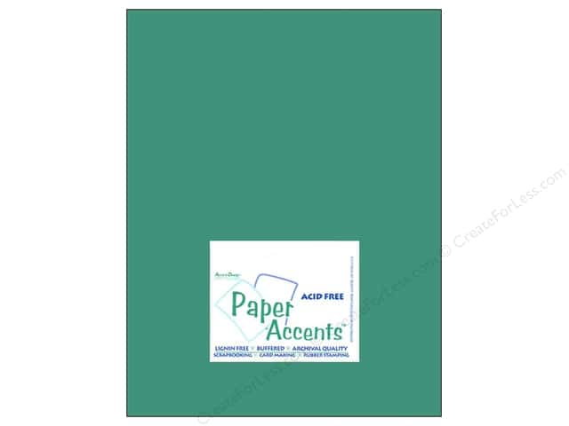Cardstock 8 1/2 x 11 in. #8040 Muslin Blue Calypso by Paper Accents (25 sheets)
