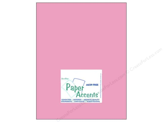 Cardstock 8 1/2 x 11 in. #8064 Muslin Chablis by Paper Accents (25 sheets)