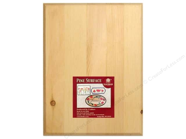 Walnut Hollow Pine Plaque 9 x 12 in. Rectangle