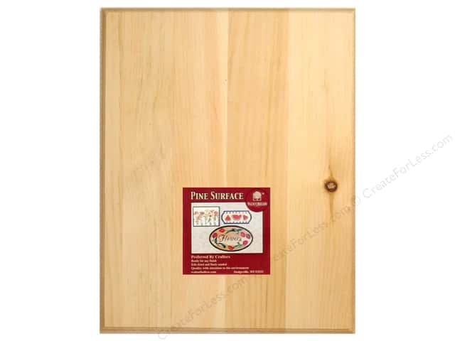 Walnut Hollow Pine Rectangle Plaque 11 x 14 in.