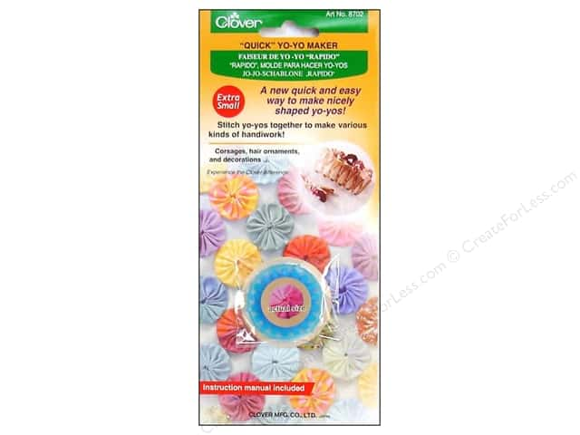 Clover Quick Yo-Yo Maker 3/4 in. Extra Small