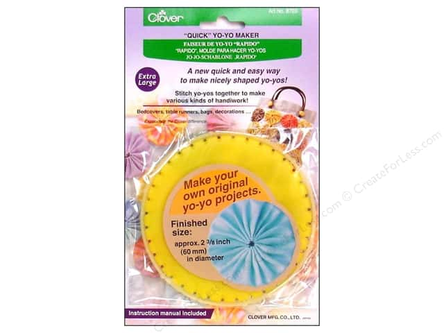 Clover Quick Yo-Yo Maker 2 3/8 in. Extra Large