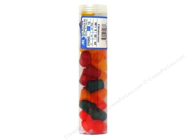 Dill Jelly Fingers Thimble 20 mm Multicolor Bright