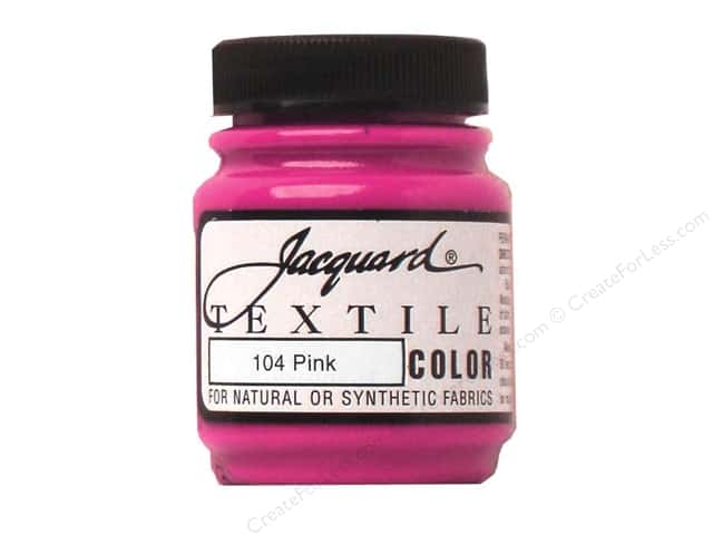 Jacquard Textile Color 2.25 oz. Pink