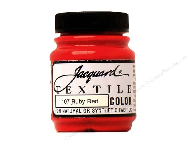 Jacquard Textile Color 2.25 oz Ruby Red