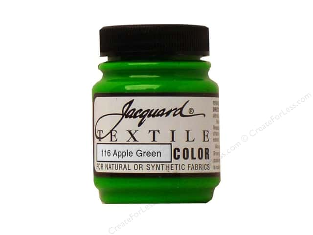 Jacquard Textile Color 2.25 oz. Apple Green