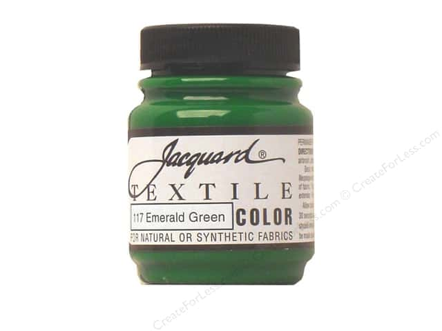 Jacquard Textile Color 2.25 oz Emerald Green
