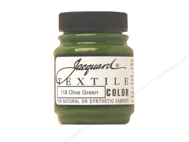 Jacquard Textile Color 2.25 oz. Olive Green