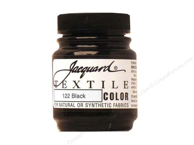 Jacquard Textile Color 2.25 oz. Black