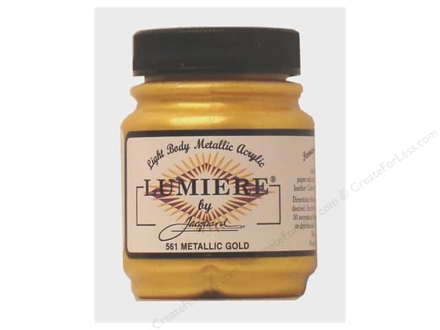 Jacquard Lumiere Paint 2.25 oz. #561 Metallic Gold