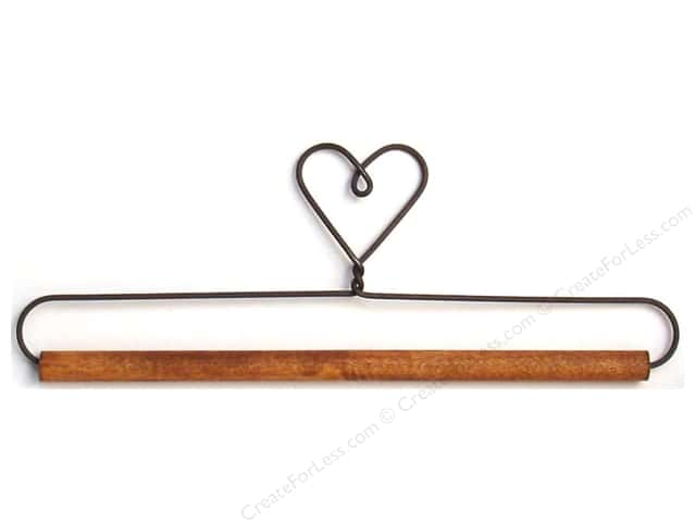 Ackfeld Craft Holders 7 1/2 in. Heart (6 pieces)
