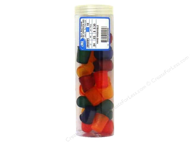 Dill Jelly Fingers Thimble 23 mm Multicolor Bright