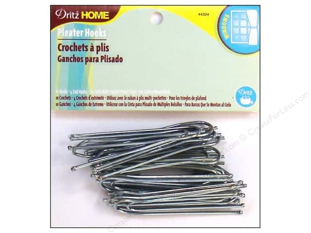 Dritz Home Ceiling Pleater Hooks 10 pc.
