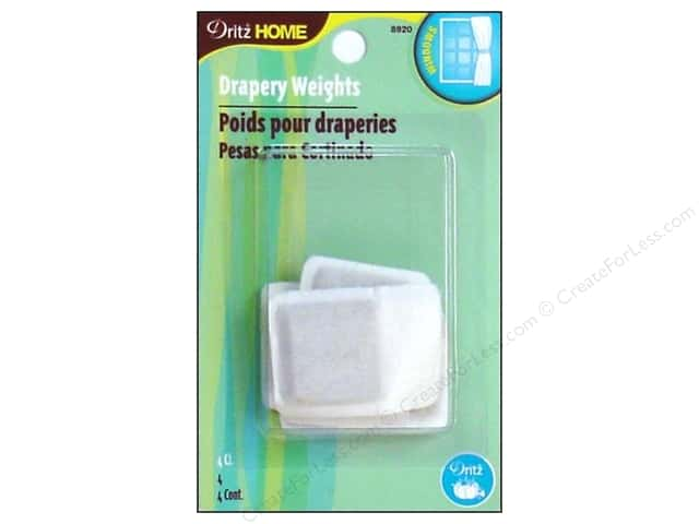 Dritz Drapery Weights - 1 in. 4 pc.