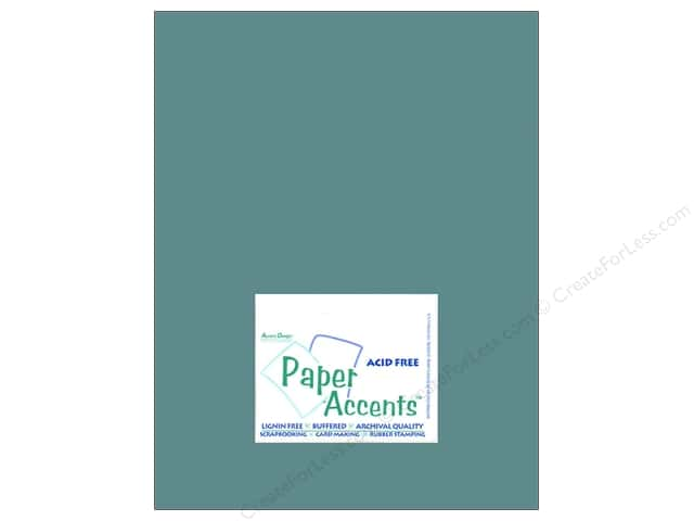 Cardstock 8 1/2 x 11 in. #8040 Muslin Blue Odyssey by Paper Accents (25 sheets)