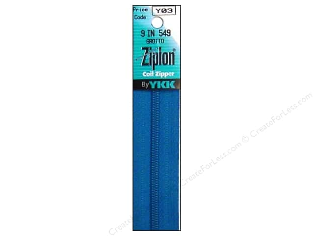 YKK Ziplon Coil Zipper 9 in. Grotto