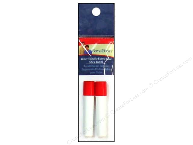 Fons & Porter Water Soluble Fabric Glue Marker Refill 2 pc.