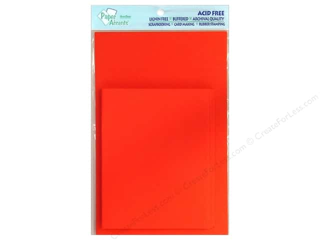 4 1/4 x 5 1/2 in. Blank Card & Envelopes by Paper Accents 10 pc. Red